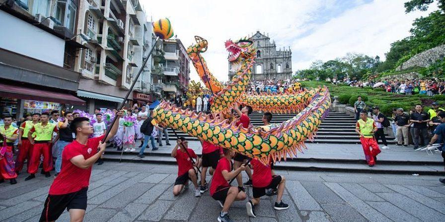 Wushu Masters Challenge a Macao