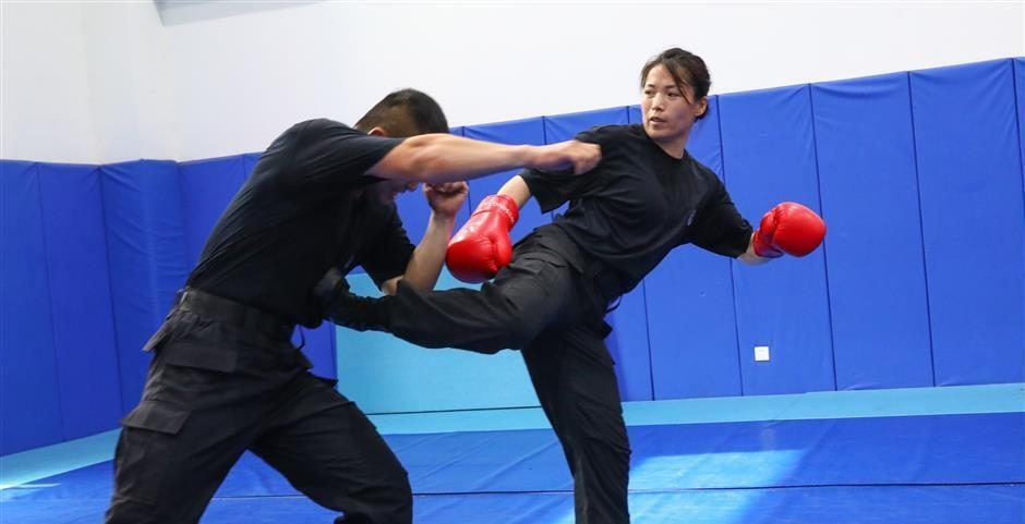 Miao Yu Jie, Du Sanda au SWAT